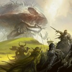 Rise of the Eldrazi - Army battles an Eldrazi