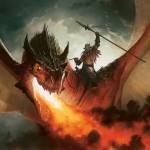 Rise of the Eldrazi - Dragon rider warrior